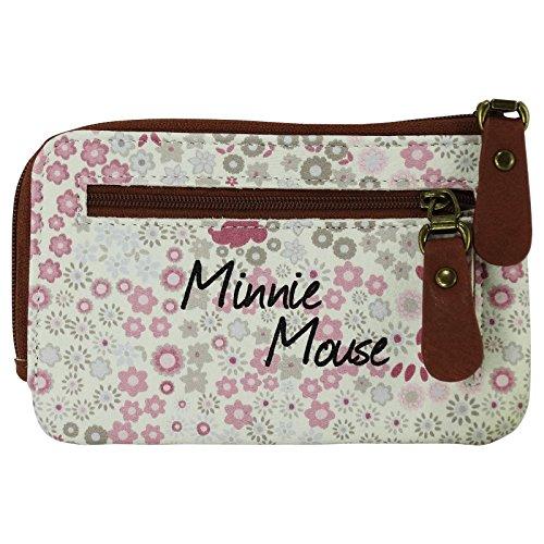 Amazon.com: Disney Minnie Pamela cartera titular de la ...
