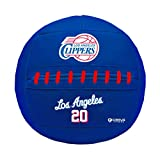 Simply Belle Fitness Medicine Ball, NBA Los Angeles Clippers, 10 lb