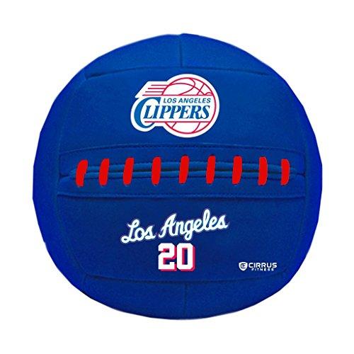 Simply Belle Fitness Medicine Ball, NBA Los Angeles Clippers, 10 lb by Simply Belle Fitness