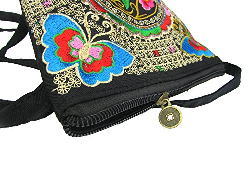 Embroidered Boho National Bucket Shoulder Donalworld Tribal Bag Pattern4 Ladies Bag Ethnic 1wPTPq