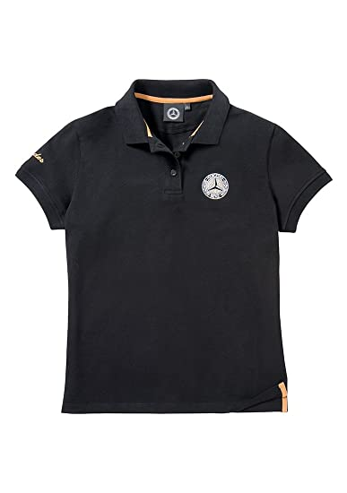 8f88722d682 Mercedes Benz Ladies  Classic Polo Shirt at Amazon Women s Clothing ...
