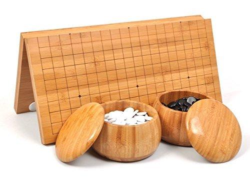 囲碁セット囲碁 碁盤セット 携帯便利 折り畳み式碁盤盤(44omm*470mm)の商品画像
