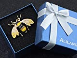 Alilang Women's Black and Yellow Bumble Bee