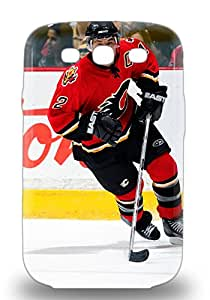 For Galaxy S3 Premium Tpu 3D PC Case Cover NHL Calgary Flames Jarome Iginla #12 Protective 3D PC Case ( Custom Picture iPhone 6, iPhone 6 PLUS, iPhone 5, iPhone 5S, iPhone 5C, iPhone 4, iPhone 4S,Galaxy S6,Galaxy S5,Galaxy S4,Galaxy S3,Note 3,iPad Mini-Mini 2,iPad Air )