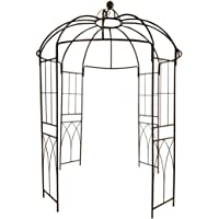 OUTOUR French Style Birdcage Shape Heavy Duty Gazebo,9'Highx 6€˜6
