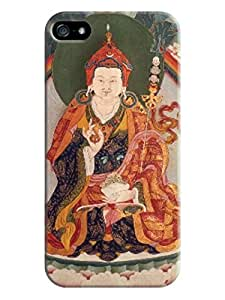 LarryToliver First Design Funny Beautiful Printed Durable Plastic Tibetan book iphone 5/5s Case #2