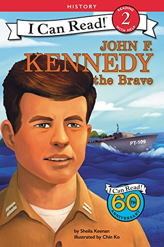 John F. Kennedy the Brave (I Can Read Level 2)