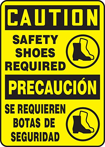 (Accuform SBMPPE763VA Aluminum Sign, Legend