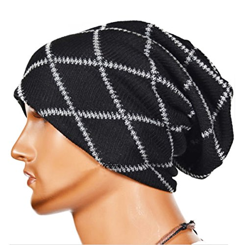 Knitting Wool Striped Warm Hat - iParaAi - Striped Snake Shopping Results