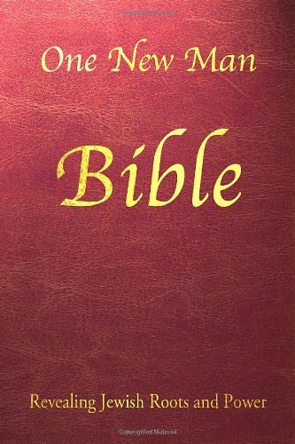 One New Man Bible-Synthetic Leather