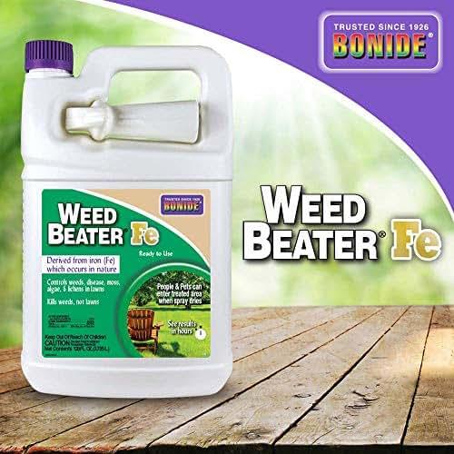 Bonide BND322 Beater Fe Weed Killer, 128 Fl Oz, 1 gal