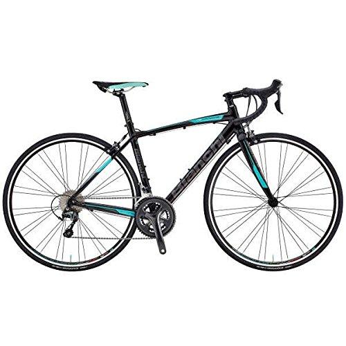 Bianchi (ビアンキ) ロードバイク VIA NIRONE 7 PRO TIAGRA (ビア ニローネ 7 ティアグラ) 2018モデル (ブラック) 55サイズ B07CKP6ZBD