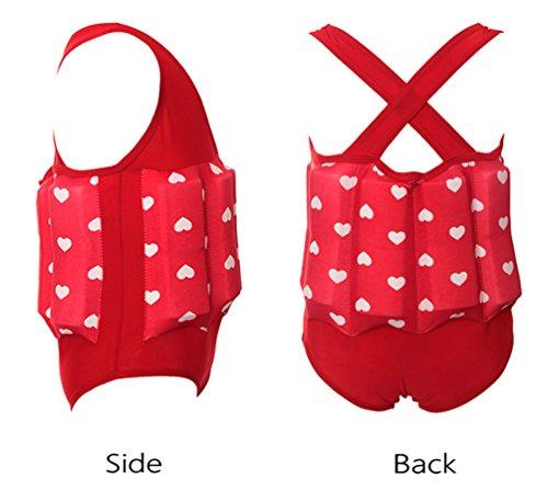 Ponce Fashion Toddler Baby Floating Vest Swimwear Detachable Buoyancy Swimsuit Training Set by Ponce Fashion (Image #3)