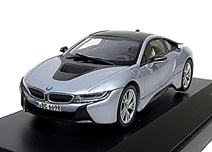 Amazon Com Paragon 1 43 Bmw I8 Ionic Silver Frozen Gray Lhd Toys