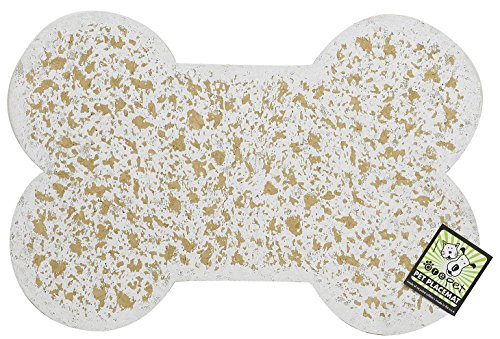 ORE Pet Recycled Rubber Pet Placemat Mini Bone - (Recycled Rubber Bone)