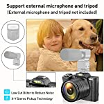 Digital-4K-Video-Camera-Camcorder-Ultra-HD-48MP-WiFi-YouTube-Vlogging-Camera-with-Wide-Angle-Lens-35-IPS-Touch-Screen-Camera-Recorder-16X-Digital-Zoom-2-Batteries