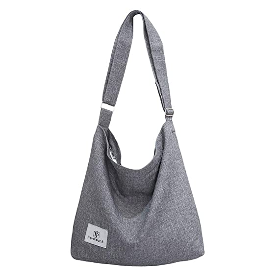 Fanspack Women's Canvas Hobo Handbags