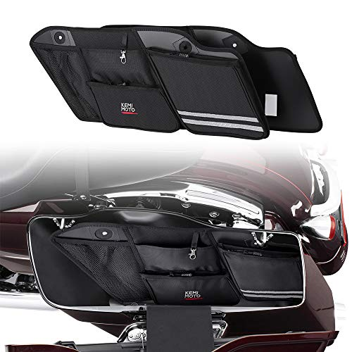 (Saddle bags Organizer for 1993-2013 Road Glide Electra Glide Street Glide Road King Saddlebag Organizers)