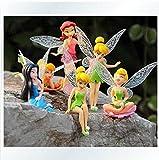 FidgetGear Anime Cartoon Tinkerbell Fairy PVC Action Figure Toys Girls Dolls Gift 6pcs/Set