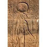Carving of Ancient Egyptian Goddess Sekhmet in Aswan Egypt Journal: 150 page lined notebook/diary