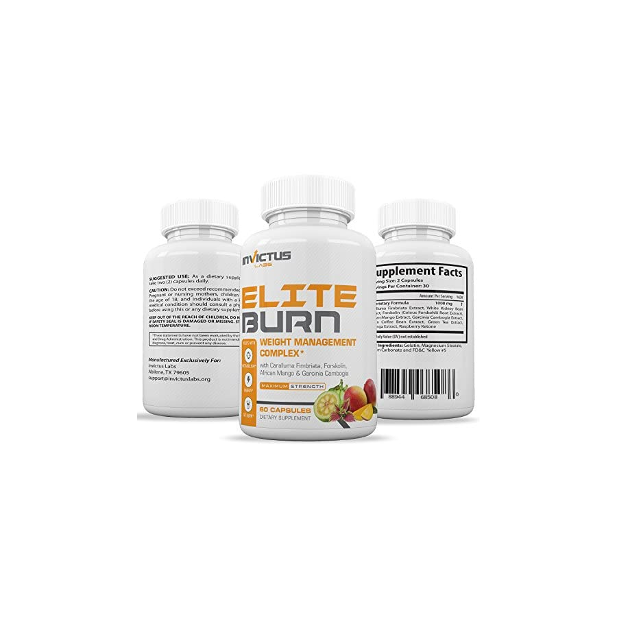 Extra Strength Weight Loss Pills That Work, Appetite Suppressant & Carb Blocker with Garcinia Cambogia Fast Acting Weight Loss & Detox 60 caplets