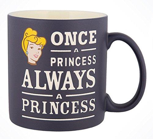 Disney Parks Exclusive Once a Princess Always a Princess Cinderella Ceramic Coffee Mug ()