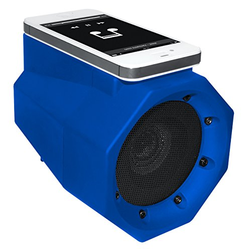 BoomTouch Wireless Portable Speaker- No Dock, No Wires, No Bluetooth Required, Amplifies Your Device's Sound, As Seen On TV (Blue)