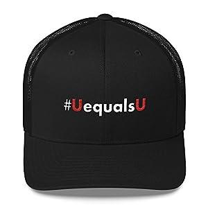 HIV Undetectable Equals Untransmittable Hat Baseball Cap Premium Snap Back Black