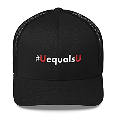 HIV Undetectable Equals Untransmittable Hat Baseball Cap Premium Snap Back Black