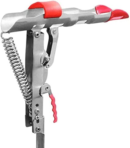 2X Automatischer Rutenhalter Edelstahl Feder Rutenständer Klapprutenhalter H4E2