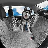 ProJack Pet Seat Cover - Enhanced Waterproof & NonSlip Backing - Heavy Duty for Cars - Trucks & SUVs-Hammock Convertible Dog Seat Cover-Free Bonus Seat Belt Cover