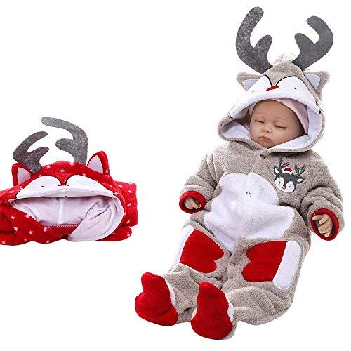 Baby Christmas Outfits Newborn Baby Girl Boy Deer