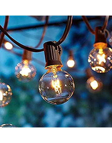 Amazon Co Uk Outdoor String Lights