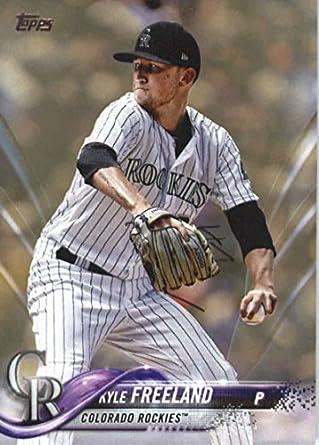 c0fe189ac Amazon.com: 2018 Topps Series 2#586 Kyle Freeland Colorado Rockies Baseball  Card - GOTBASEBALLCARDS: Collectibles & Fine Art