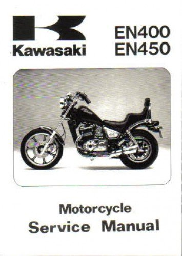 99924-1056-04 1985-1990 Kawasaki EN450 EN500 EX500 Service Manual (Kawasaki En500 Manual)
