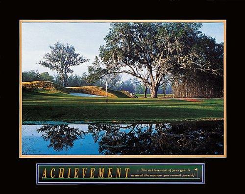 Achievement: Golf Art Print 28 x 22in