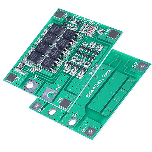 3S 25A Rated Li-ION BMS. Overcharge/Over Discharge Protection by Tech Express