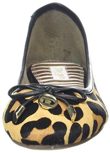 Duna Signore Hardy Ballerine Chiusi Multicolore (leopard)