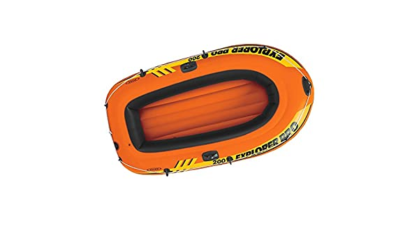 Intex Explorer Pro 200, 2-Person Inflatable Boat Set with ...