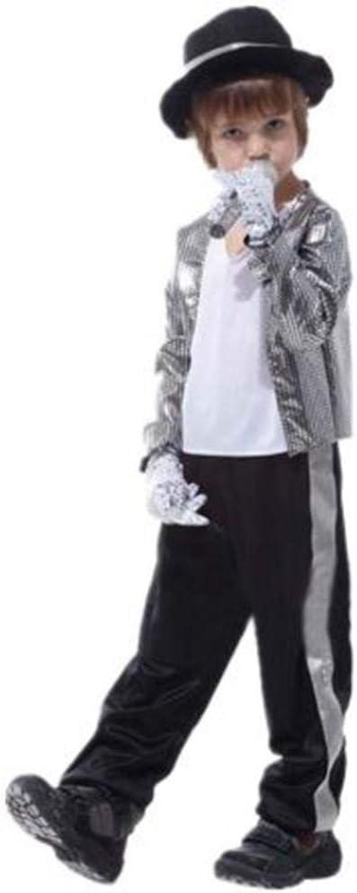 ZYH994 Niños Disfraz de Michael Jackson Fiesta de Disfraces de ...
