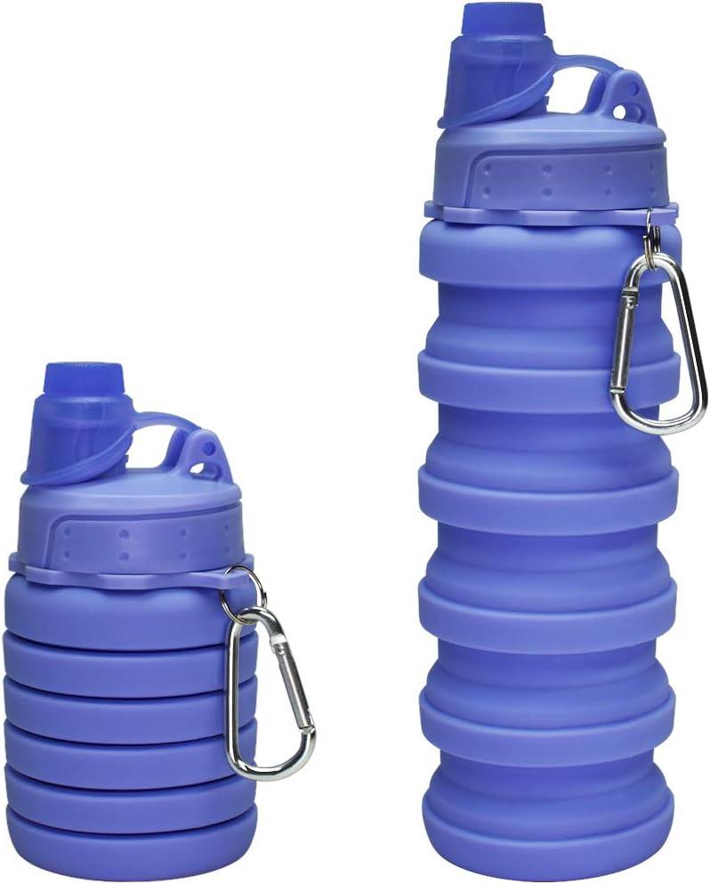 Collapsible Water Bottle Sports Water Bottle Pocket Water Bottle