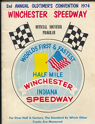 Winchester Speedway Race Program-2nd Annual Old Timers-sprint-stock-FN -