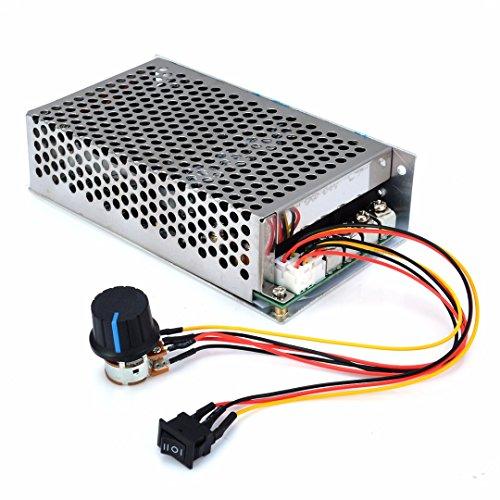 ERTIANANG PWM DC Motor Speed Controller Programable Reversible Control 10-50V 100A 3000W (Programable Controller)
