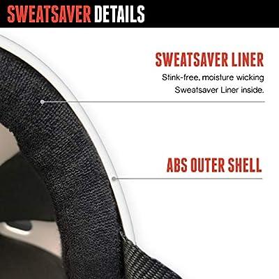 Triple Eight Sweatsaver Liner Skateboarding Helmet, Red Rubber, Medium : Skate And Skateboarding Helmets : Sports & Outdoors