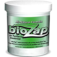 BioZap Air Purifier & Deodorizer (16-oz) | All-Natural Formula Cleanses Musty, Organic Odors | Tea Tree Oil