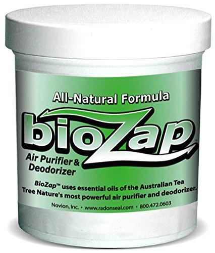 BioZap Air Purifier & Deodorizer (16-oz) | All-Natural Formula Cleanses Musty, Organic Odors | Tea Tree Oil (Tea Boat)