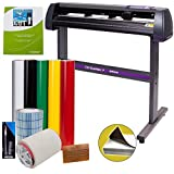 Vinyl Cutter USCutter MH 34in Bundle - Sign Making Kit w/Design & Cut Software, Supplies, Tools, US-Based Customer…