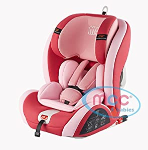 mcc convertible car seat group 1 2 3 with isofix system pink baby. Black Bedroom Furniture Sets. Home Design Ideas