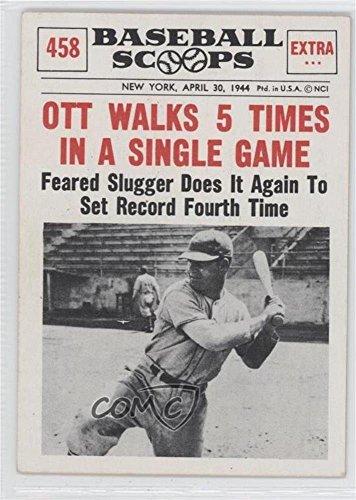 Amazoncom Mel Ott Baseball Card 1961 Nu Cards Baseball
