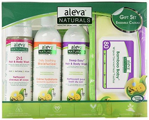 Aleva Naturals Newborn Baby Gift Set by Aleva Naturals